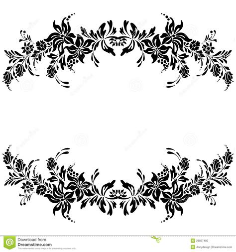 decorative elements pattern design stock photo image
