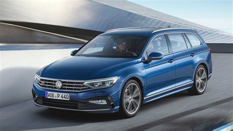 volkswagen passat facelift officially revealed  europe