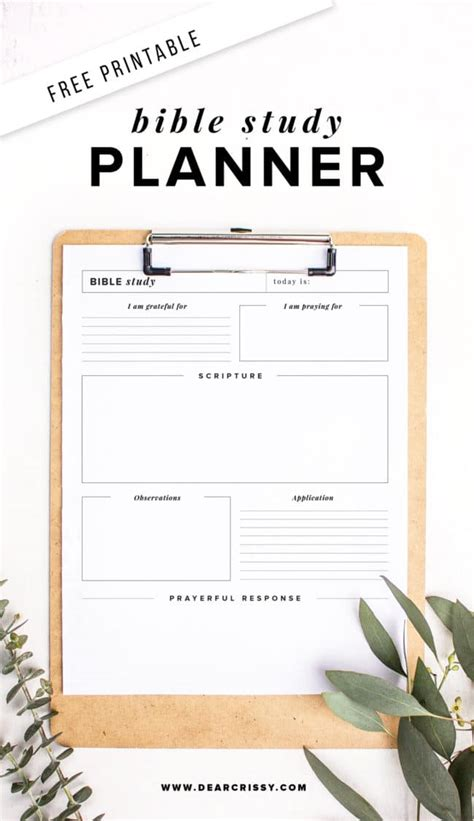 free printable bible study planner soap method bible study worksheet
