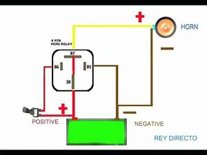 12v 5 Pin Relay Wiring Diagram How A Works Within Changeover To