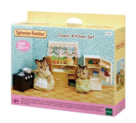 sylvanian families country kitchen classic kitchen set sylvanian families 5965