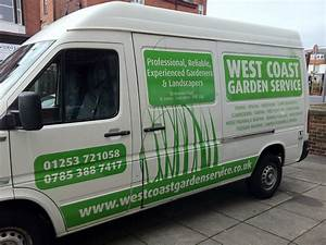 vinyl lettering for west coast van fylde signs graphics With vinyl lettering for vans