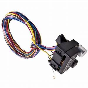 12 Circuit Universal Wiring Harness Muscle Car Hot Rod