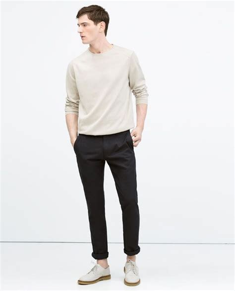pull col roulé homme zara pull 224 col rond zara homme col rond pulls