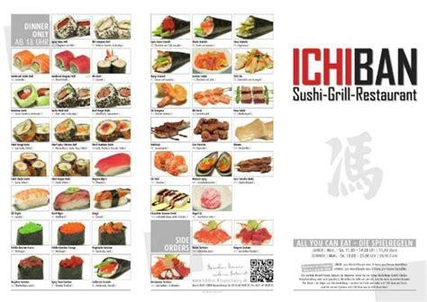 cuisine braun speisekarte picture of ichiban sushi grill restaurant