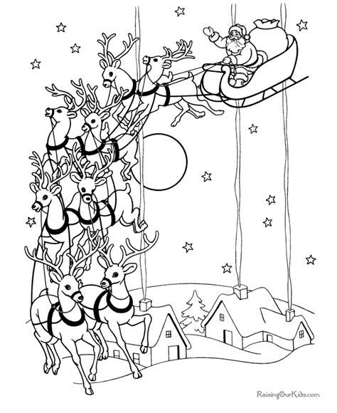 santa claus christmas coloring pages christmas drawings