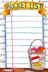 My Summer Bucket List Template