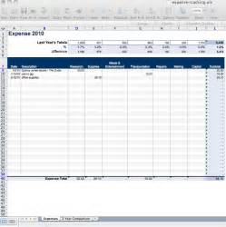 Excel Templates For Expenses Daily Expense Tracker Spreadsheet Template Excel Excel Template