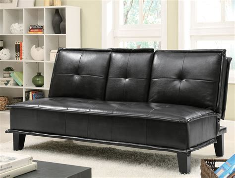 johnson collection  black futon
