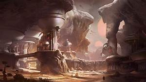 First Piece Of Halo 5  Guardians Concept Art Shows Outpost