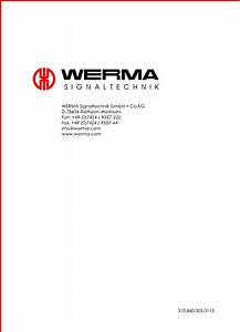 Find Out Here Werma De 78604 Wiring Diagram Download
