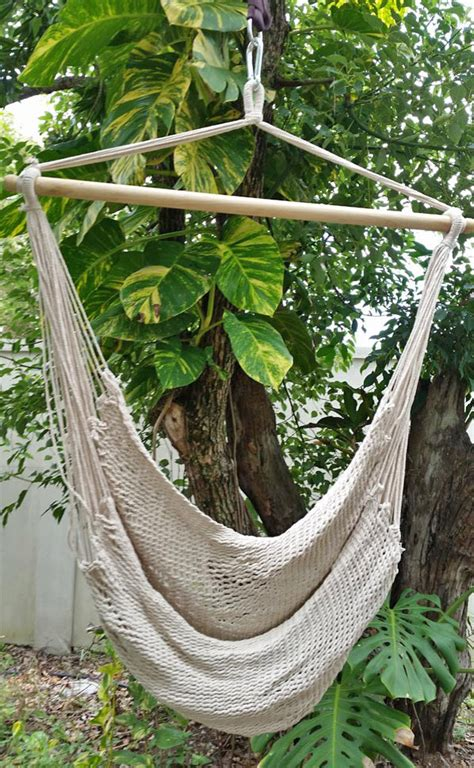 Cotton Hammock Chair by Large White Cotton Rope Hammock Chair Heavenly Hammocks
