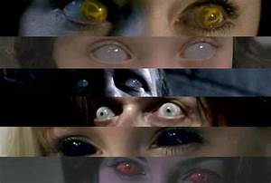 make your eyes look like you are possessed by ANY demon ...