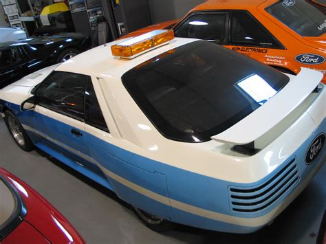 ford mustang concept  ppg pace car ppg pace cars