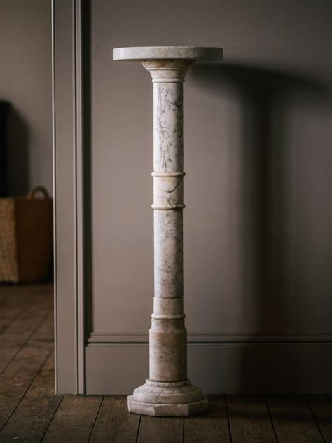 carrara marble plant stands devol kitchens