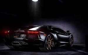 Download Matte Black Lamborghini Aventador on Vellano ...