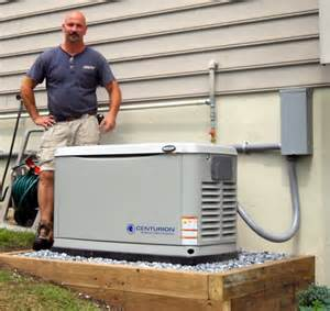Whole Home Generator Natural Gas