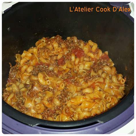 p 226 tes 224 la bolognaise 224 ma sauce au cookeo la cuisine by alex