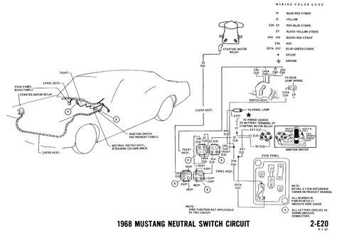 Mustang Tachometer Wiring Diagram