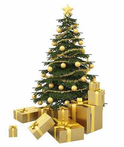 Tree Christmas Presents Transparent Background Clipart Chirstmas