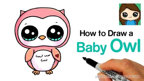 draw  baby owl easy jmbovcunu