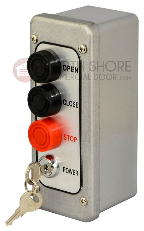 mmtc pbtl 3 exterior three button control w lockout