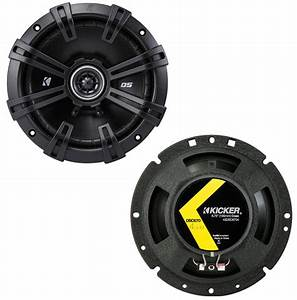 Kicker Car Speakers : kicker 43dsc6704 ds series 60w rms 4 ohm coaxial car ~ Jslefanu.com Haus und Dekorationen