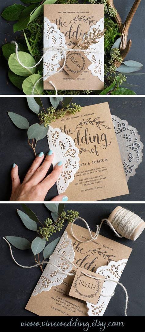 29+ Pretty Photo of Cheap Diy Wedding Invitations