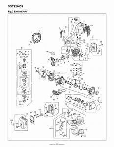 Red Max Sgcz2460s 10 S  N 00100101  U0026 Up Parts Diagram
