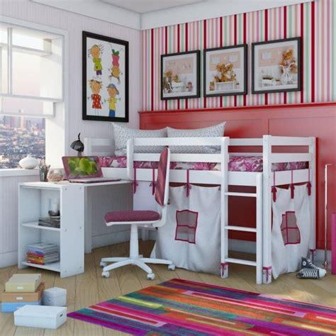 chambre fille lit mezzanine lit mezzanine enfant 25 belles idées gain d 39 espace
