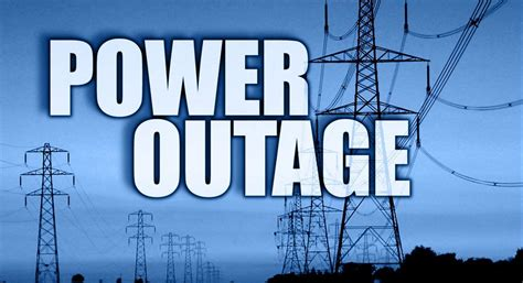 major power outage  jackson local news kpvicom