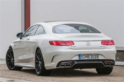 2015 S63 Amg Coupe by 2015 Mercedes S63 Amg Coupe 4matic Revealed Ahead Of