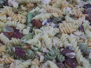 Chicken Pasta Salad with Grapes