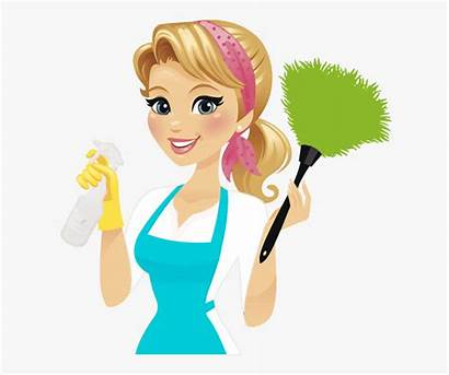 Cleaning Clipart Lady Person Woman Clip Pinclipart