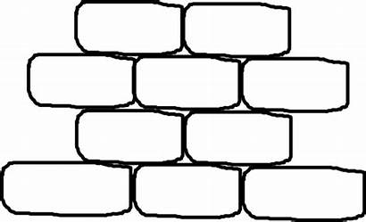 Brick Wall Words Clip Clipart Coloring Clker