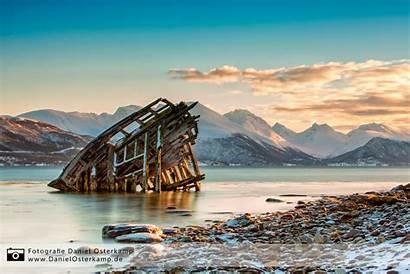 Schiffswrack Norway Wreck Ship Tromso Environnement Wrak