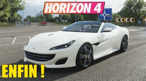 We do some fh4 customization and toss in a ferrari fxxk. Forza Horizon 4 : ENFIN ! Ferrari Portofino - YouTube
