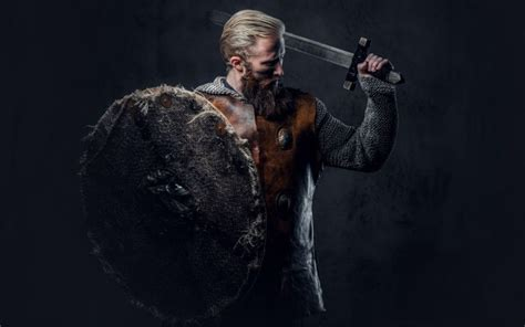 Paired with the perfect long, full beard, the viking warrior hairstyles look masculine and powerful. Viking Beard: How to Grow + Top 10 Styles - BeardStyle