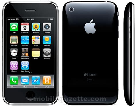 iphone mobile apple iphone 3g mobile gazette mobile phone news