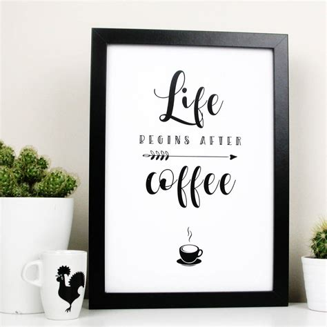 After a workout, i usually mix 2 scoops up with a banana, 150g strawberries, whole oats, unsweetened almond milk, ice blocks and some super greens powder. while i don't believe caffeine is harmful, i personally avoid coffee immediately after a workout, says the nutritional expert. life begins after coffee quote print by moonglow art ...