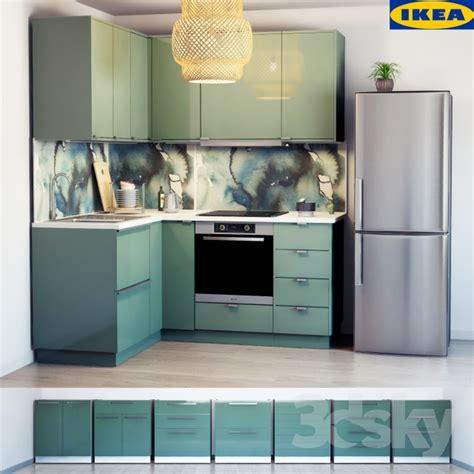 3d cuisine ikea 3d models kitchen ikea kitchen kallarp