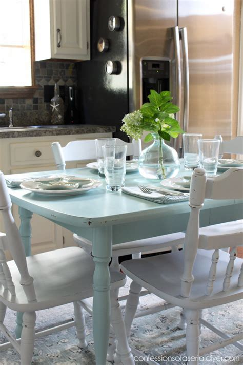 how to paint a laminate kitchen table confessions of a serial do it yourselfer