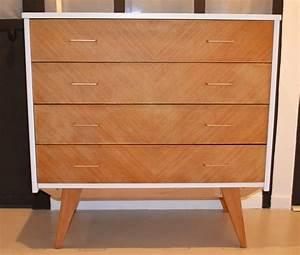 Commode Scandinave Ikea : commode scandinave ann es 50 r nov e cr ation de meubles en bois sur mesure ~ Teatrodelosmanantiales.com Idées de Décoration