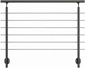 gelander komplettset pertura aluminium anthrazit fur With französischer balkon mit markt sonnenschirm 4x4m