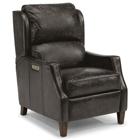 flexsteel latitudes ethan transitional power leather high