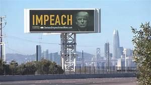 Bay Bridge Billboard Calls for President Trump's Impeachment - NBC Bay Area