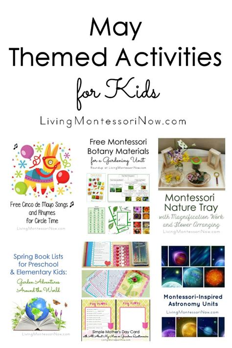 may themed activities for 478 | May Themed Activities for Kids