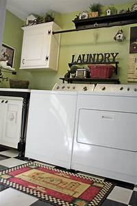 lime green laundry room southern hospitality With best brand of paint for kitchen cabinets with laundry room wall art ideas
