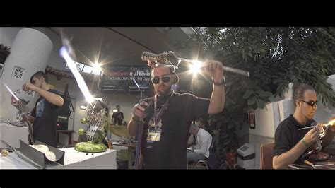 cultiva  roor glassblowing show youtube