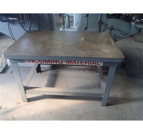 45 x 30 table steel layout table 45 quot x 30 quot x 28 quot with 1 8 quot thick steel